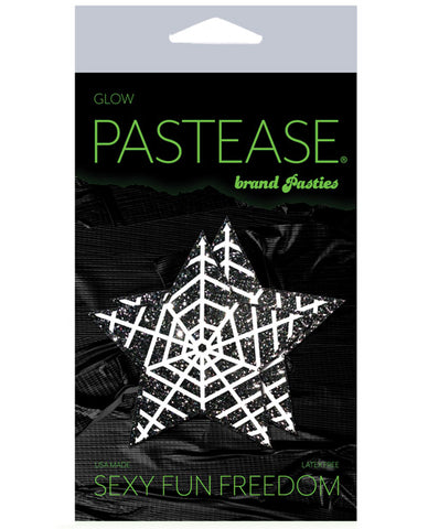 Pastease Halloween Glitter Web  - Glow In The Dark Black-white O-s