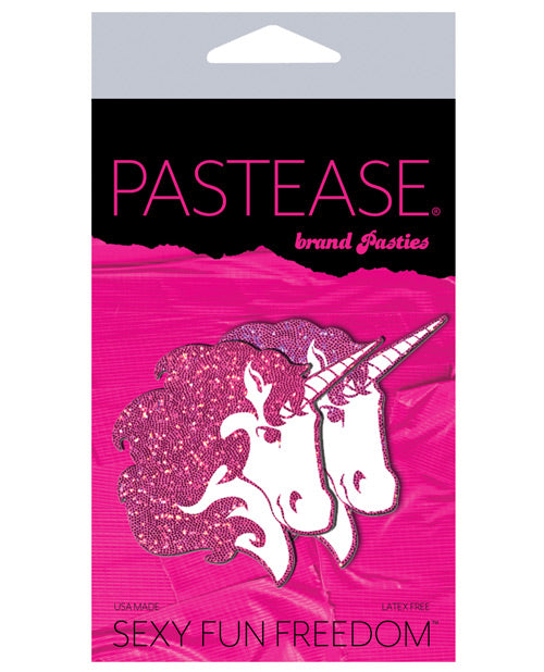 Pastease Glitter Unicorn - Hot Pink-white O-s