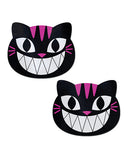Pastease Grinning Kitty Cat - Black-pink O-s