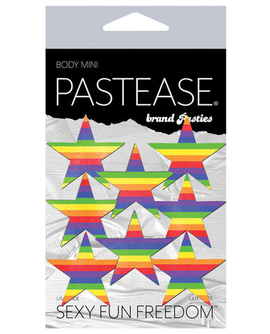 Pastease Mini Rainbow Stars - Pack Of 8 O-s