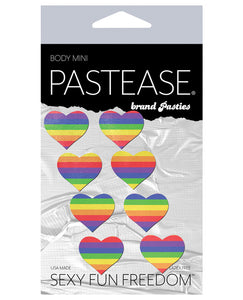 Pastease Mini Rainbow Heart - Pack Of 8 O-s