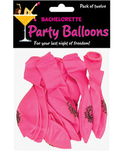 Bachelorette Party Balloons - Pack Of 12