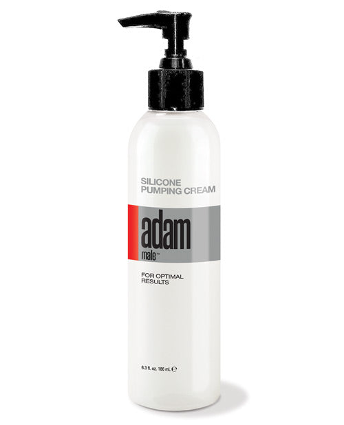 Adam Male Silicone Pumping Cream - 6.3 Oz White