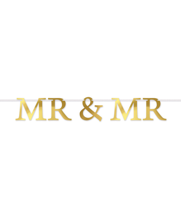 Mr & Mr Streamer - Gold