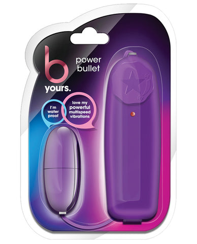 Blush B Yours Power Bullet - Plum