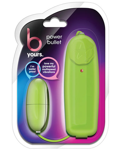 Blush B Yours Power Bullet - Lime