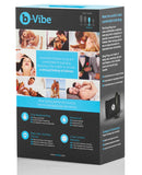 B-vibe Weighted Snug Plug 2 - .114 G Black