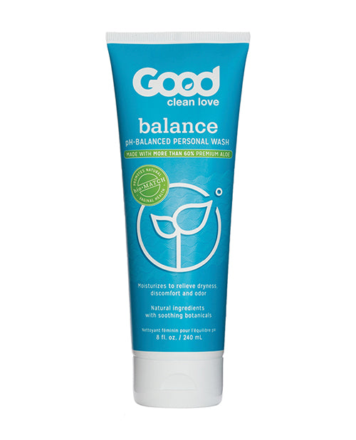 Good Clean Love Balance Moisturizing Wash - 8 Oz