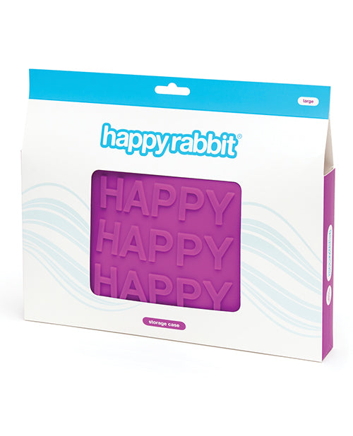 Happy Rabbit Happy Storage Zip Bag Large - Purple
