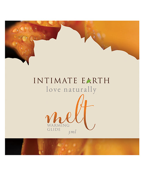 Intimate Earth Melt Warming Glide - 3 Ml Foil