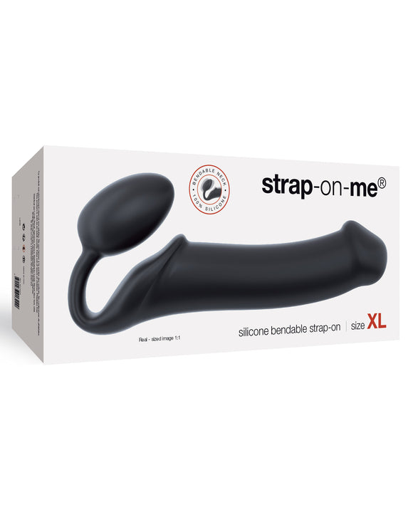 Strap On Me Silicone Bendable Strapless Strap On Xlarge - Black