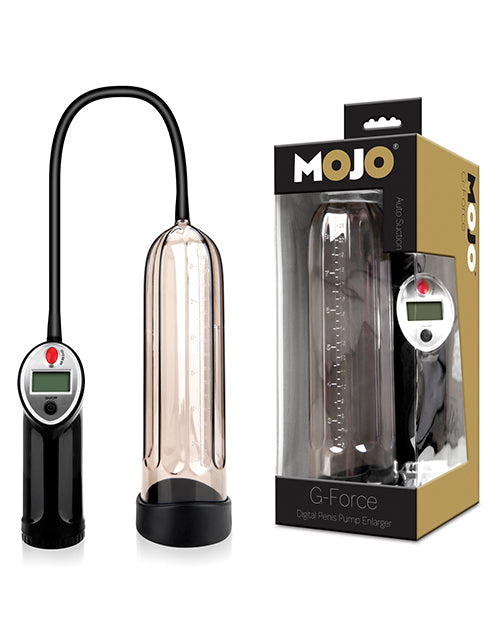 Mojo G Force Digtial Penis Enlarger - Black-smoke