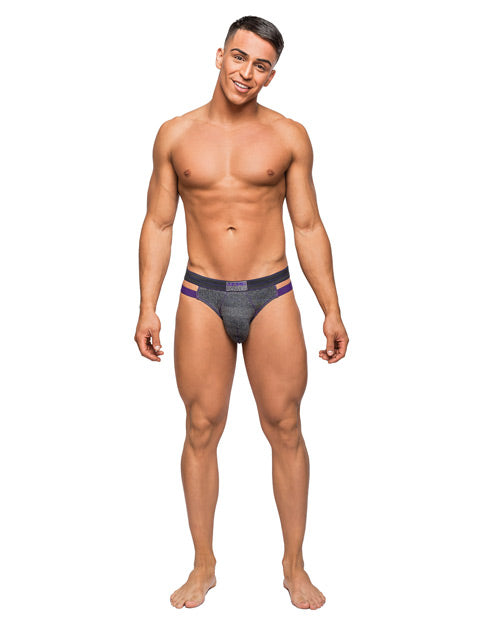 Heather Haze Cutout Jock Grey L-x
