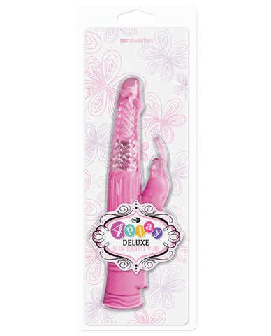 4play Deluxe Slim Rabbit Vibe - Pink