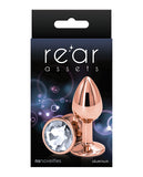 Rear Assets Rose Gold Small - Clear
