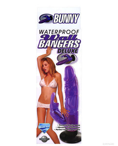 Wall Bangers Deluxe Bunny Waterproof - Purple