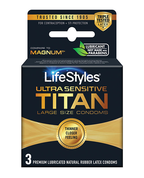 Ultra Sensitive Titan - Pack Of 3