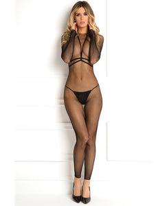 Rene Rofe Body Conversation Harness Set Black S-m