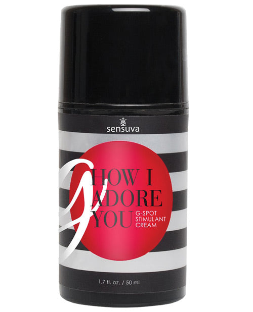 Sensuva G How I Adore You - 1.7 Oz