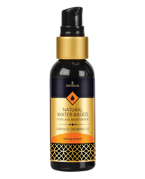 Sensuva Natural Water Based Personal Moisturizer - 1.93 Oz Orange Creamsicle