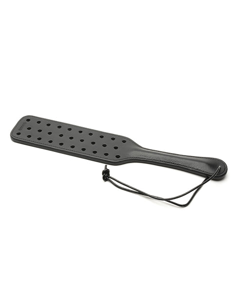 665 High Speed Leather Paddle - Black