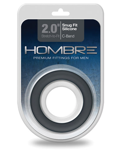 Hombre Snug Fit Silicone C Band - Charcoal