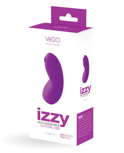 Vedo Izzy Rechargeable Clitoral Vibe - Violet Vixen