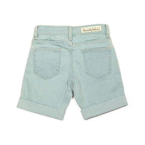 Brooklyn Washed Denim Shorts