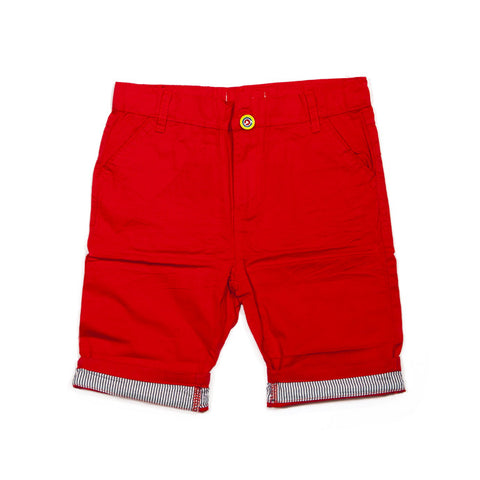 Chino Shorts - Red