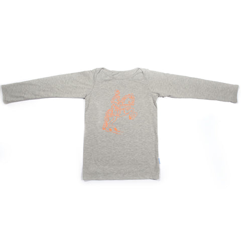 Long Sleeve Hudson Envelope Tee – Knight Grey
