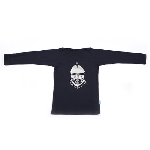 Long Sleeve Hudson Envelope Tee – Navy Knight