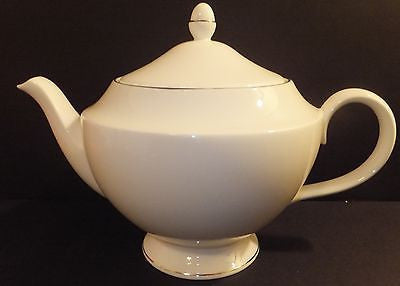 Wedgwood Signet Platinum Teapot New with Tag