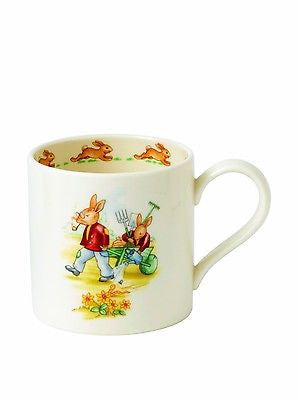 Royal Doulton China Bunnykins 80th Anniversary Childrens Mug New In Box