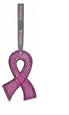 Waterford 2014 Pink Hope Ornament To Benefit Breast Cancer New In Box