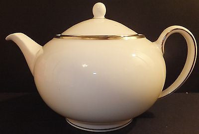 Wedgwood Dinnerware Sterling Teapot New with Tag