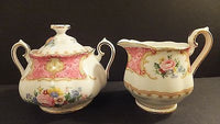 Royal Albert Lady Carlyle Sugar And Footed Creamer New with tags
