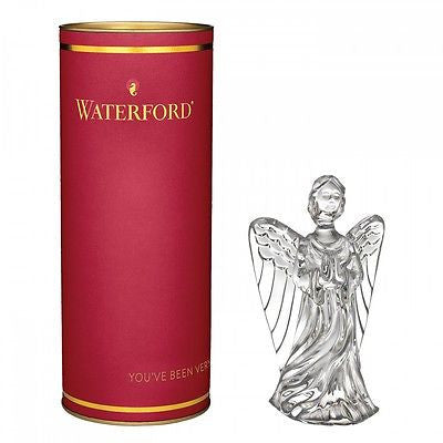 Waterford Crystal Giftology Guardian Angel New In Waterford Gift Canister