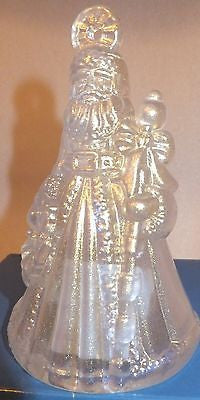 Waterford Marquis 2008 Annual Santa Bell Ornament New with tag
