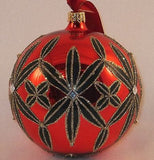"Waterford Holiday Heirlooms Lismore 4"" Ball Ornament New in Gift Box"