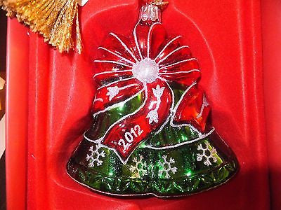 Waterford Marquis Holiday Bells Christmas Ornament Brand New In Box