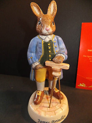 Royal Doulton Bunnykins James Brindley DB438 Inventors Collection Limited No 5