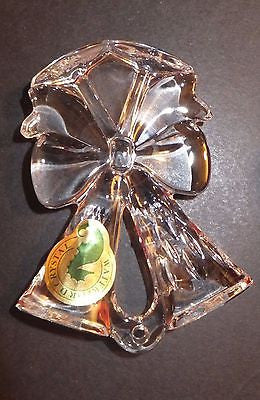 Waterford Crystal 2014 Annual Lismore Toasting Flute Ornament with Enhancer New
