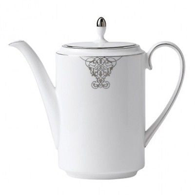 Vera Wang Wedgwood Imperial Scroll Coffee Pot New with Tags