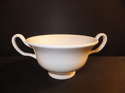 Wedgwood White Cream Soup Cup New with Tag Dinnerware
