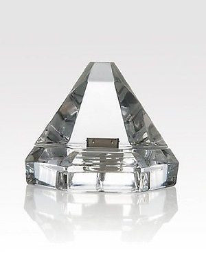 Rogaska Crystal Dock for iPod iPad iPhone compatible w/ iPhone 4 4S devices New