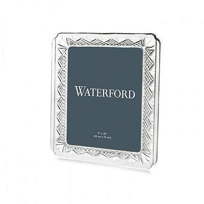 WATERFORD Crystal Wedding Heirloom 8 x 10 Frame New In Waterford Gift Box