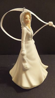 Royal Doulton White Christmas Ornament Brand New In Box