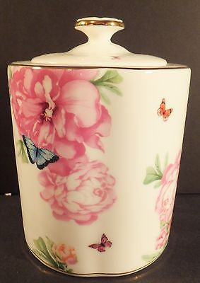 Royal Albert Friendship Tea Caddy Designed by Miranda Kerr New