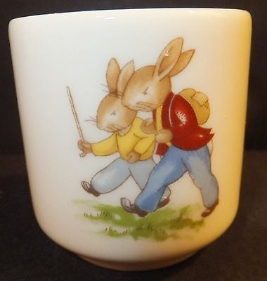 Royal Doulton Bunnykins Egg Cup boys mother baby NEW IN THE BOX