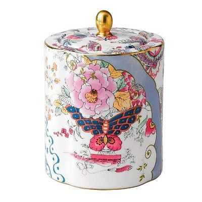 Wedgwood Harlequin Butterfly Bloom Tea Caddy New In Wedgwood Gift Box